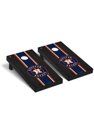 Houston Astros Onyx Stained Regulation Cornhole Tailgate Game