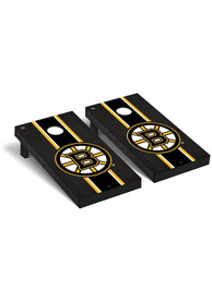 Boston Bruins Onyx Stained Regulation Cornhole Tailgate Game