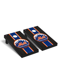 New York Mets Onyx Stained Regulation Cornhole Tailgate Game