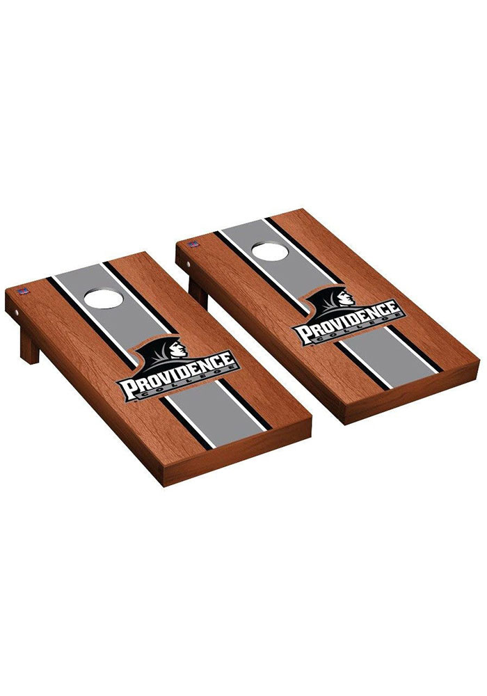 Providence Friars Rosewood Stained Regulation Cornhole Tailgate Game - Image 1