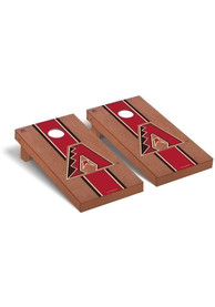 Arizona Diamondbacks Rosewood Stained Regulation Cornhole Tailgate Game