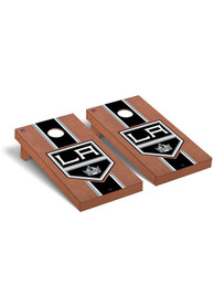 Los Angeles Kings Rosewood Stained Regulation Cornhole Tailgate Game