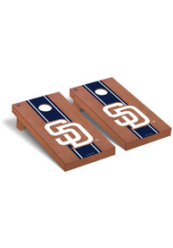 San Diego Padres Rosewood Stained Regulation Cornhole Tailgate Game