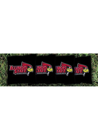 Illinois State Redbirds All-Weather Cornhole Bags Tailgate Game