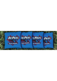DePaul Blue Demons All-Weather Cornhole Bags Tailgate Game