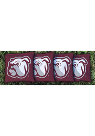 Mississippi State Bulldogs Corn Filled Cornhole Bags Tailgate Game