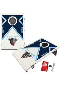 Maine Black Bears Baggo Bean Bag Toss Tailgate Game