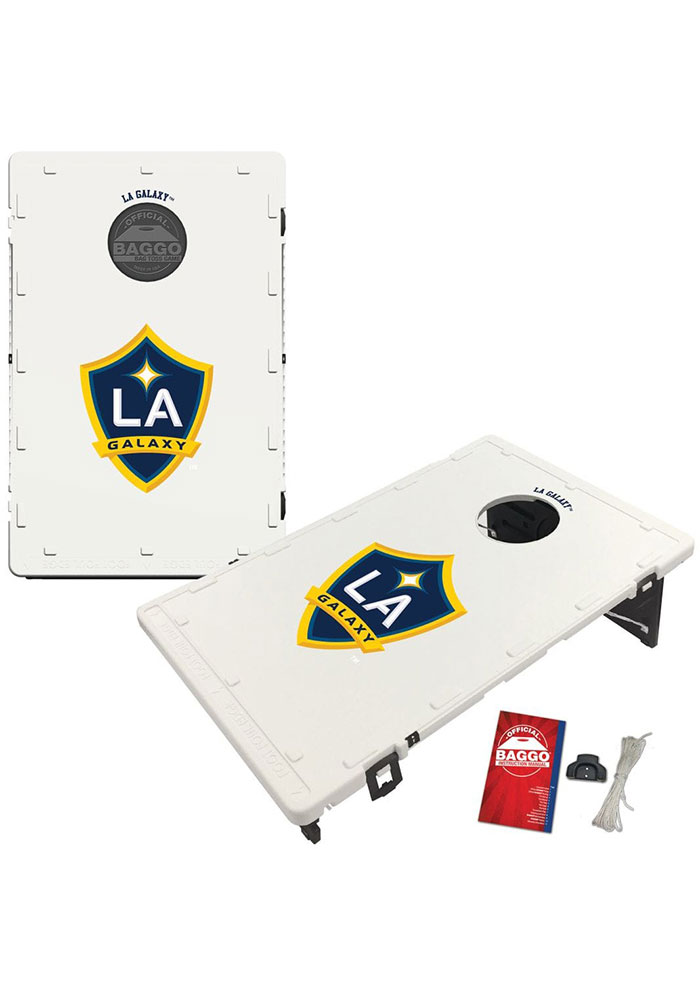 LA Galaxy Baggo Bean Bag Toss Tailgate Game