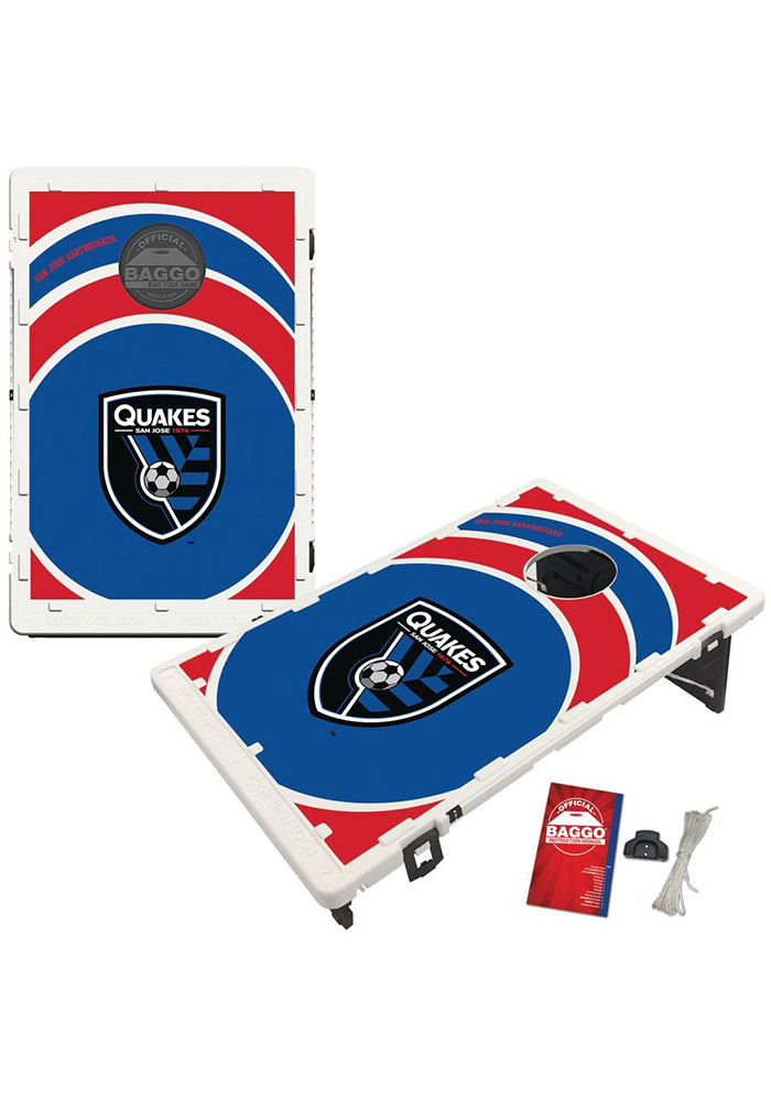 San Jose Earthquakes Baggo Bean Bag Toss Tailgate Game - Image 1