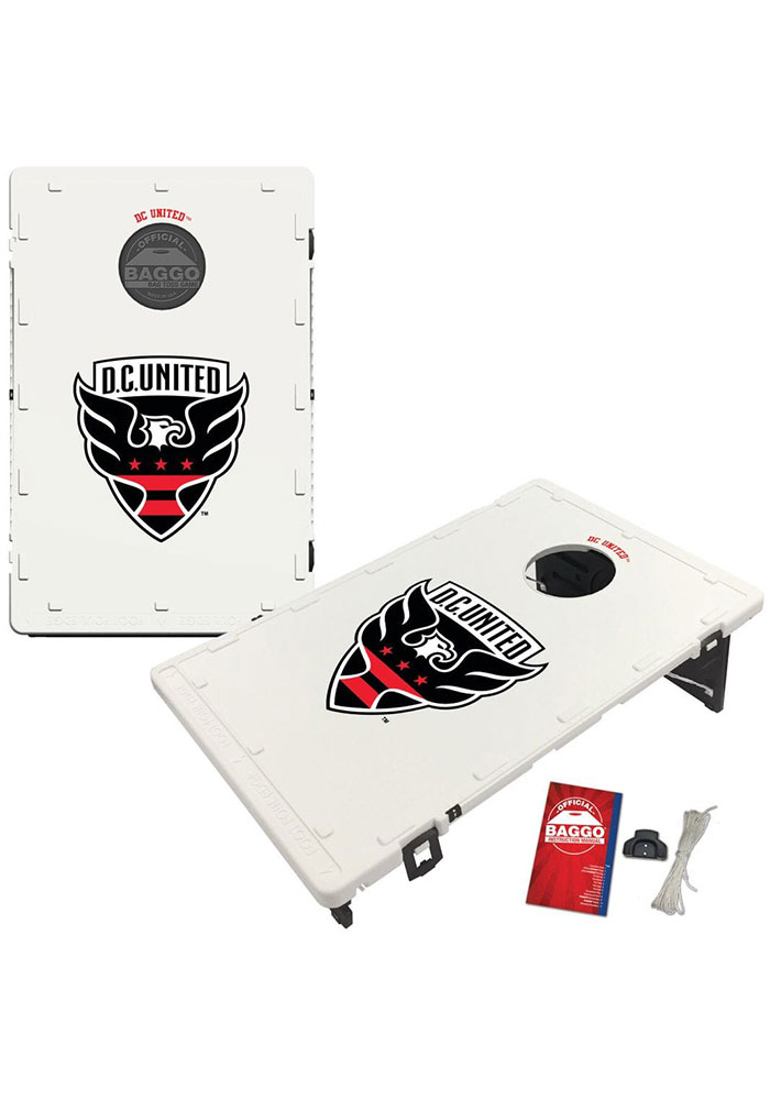 D.C. United Baggo Bean Bag Toss Tailgate Game - Image 1
