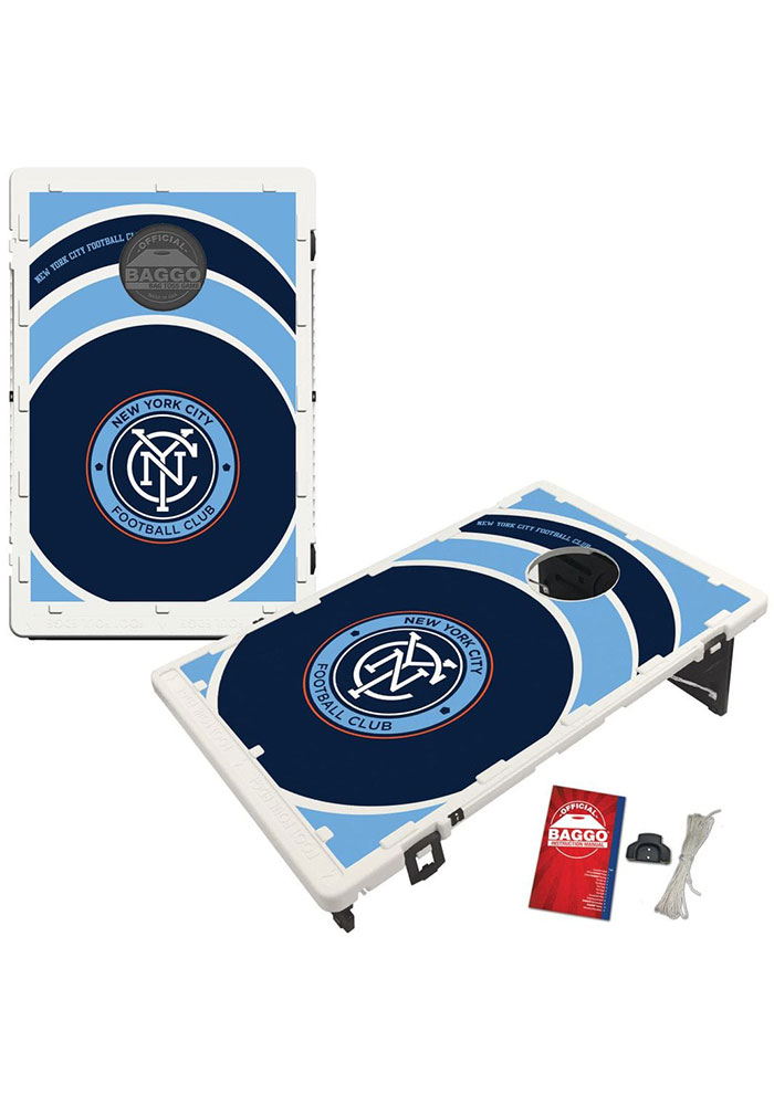 New York City FC Baggo Bean Bag Toss Tailgate Game - Image 1