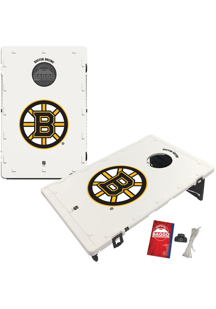 Boston Bruins Baggo Bean Bag Toss Tailgate Game - Image 1