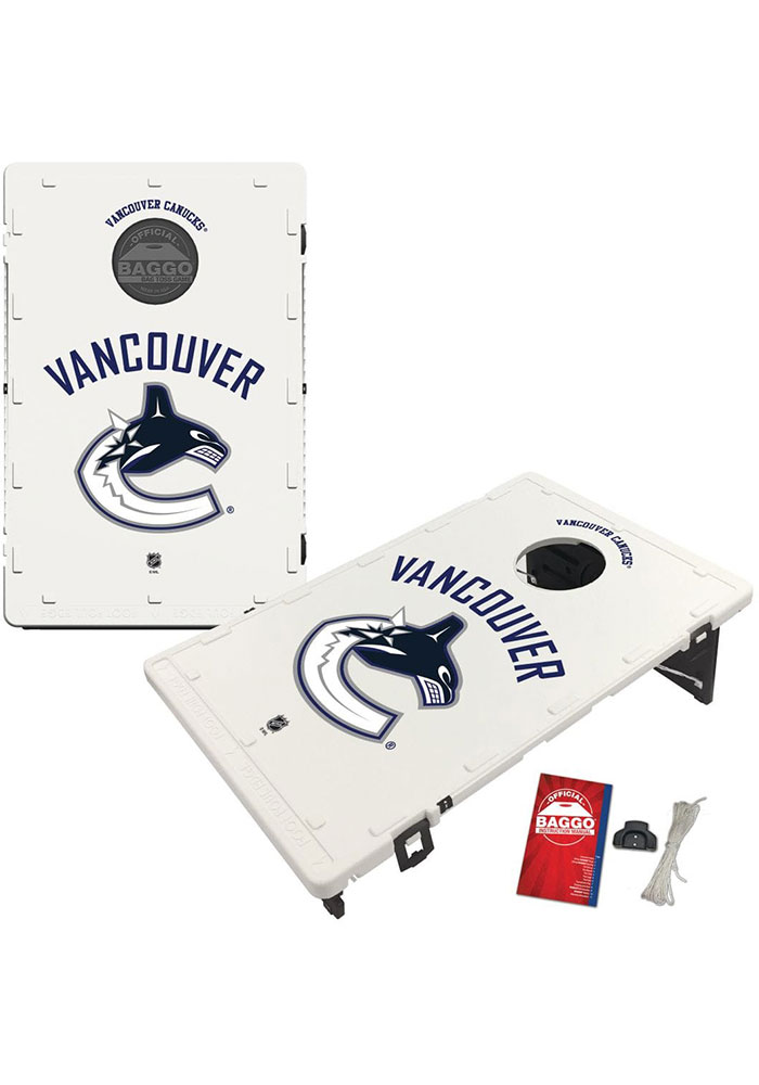 Vancouver Canucks Baggo Bean Bag Toss Tailgate Game