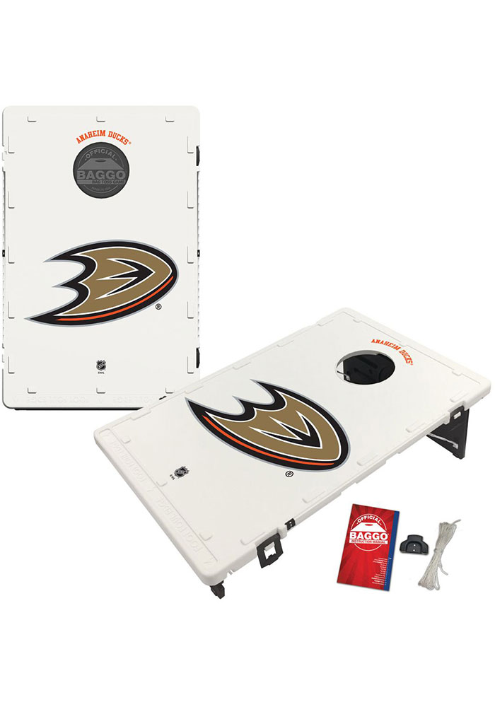 Anaheim Ducks Baggo Bean Bag Toss Tailgate Game - Image 1