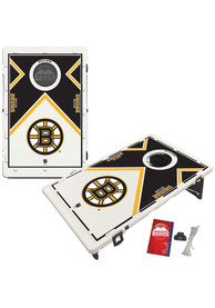 Boston Bruins Baggo Bean Bag Toss Tailgate Game