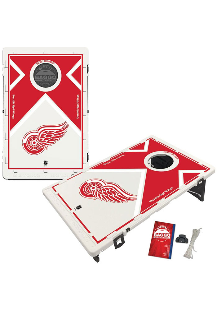 Detroit Red Wings Baggo Bean Bag Toss Tailgate Game - Image 1