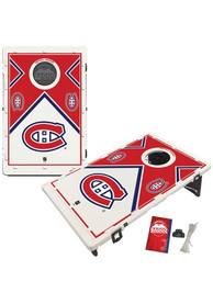 Montreal Canadiens Baggo Bean Bag Toss Tailgate Game