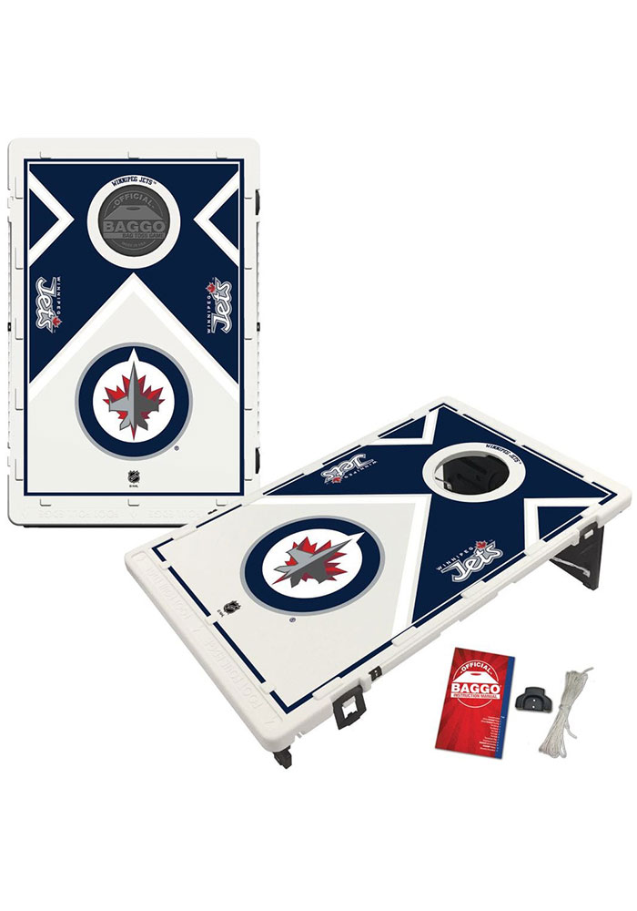 Winnipeg Jets Baggo Bean Bag Toss Tailgate Game - Image 1