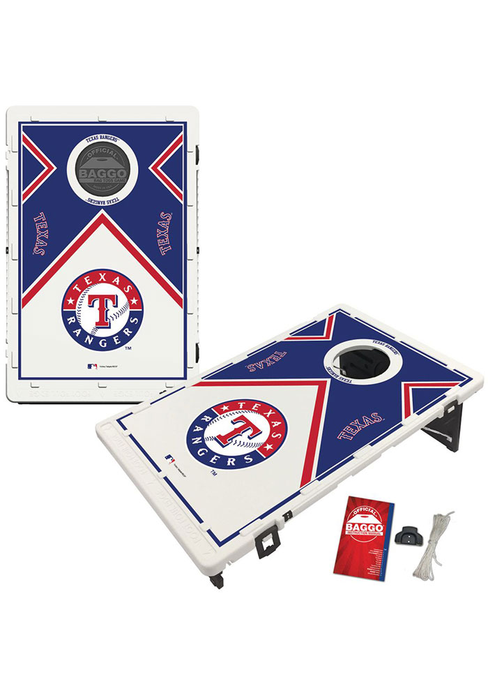 Texas Rangers Baggo Bean Bag Toss Tailgate Game - Image 1