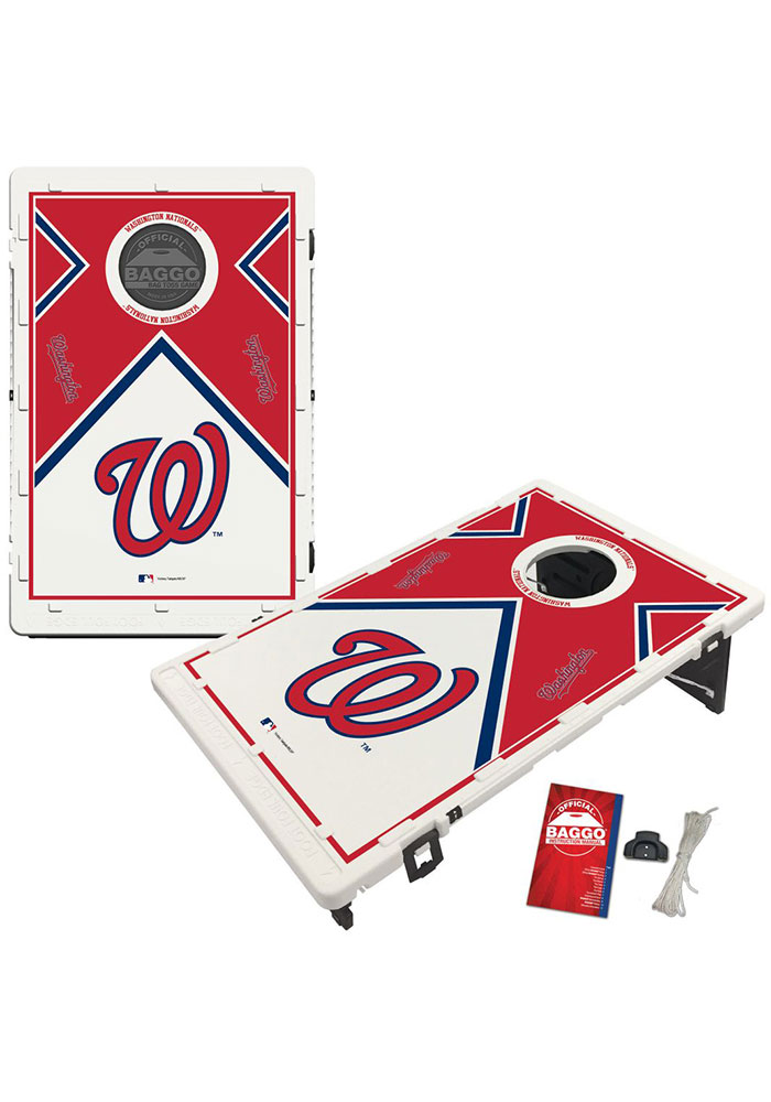 Washington Nationals Baggo Bean Bag Toss Tailgate Game - Image 1