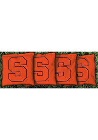 Syracuse Orange Corn Filled Cornhole Bags Tailgate Game