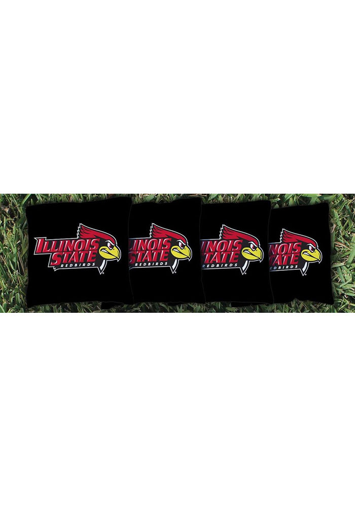 Illinois State Redbirds Corn Filled Cornhole Bags Tailgate Game - Image 1