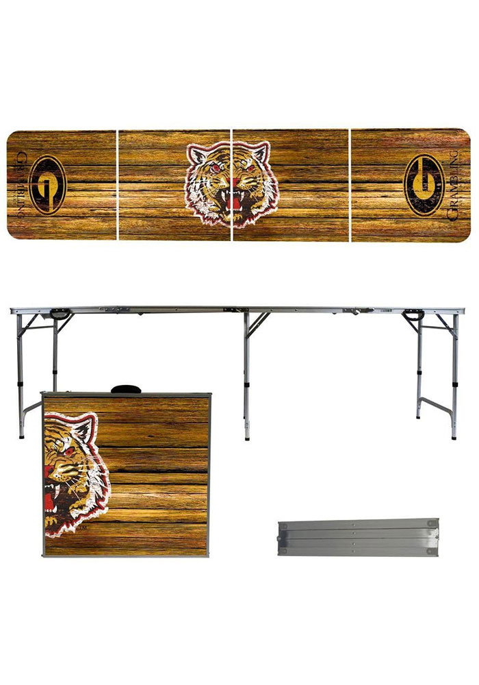 Grambling State Tigers 2x8 Tailgate Table - Image 1