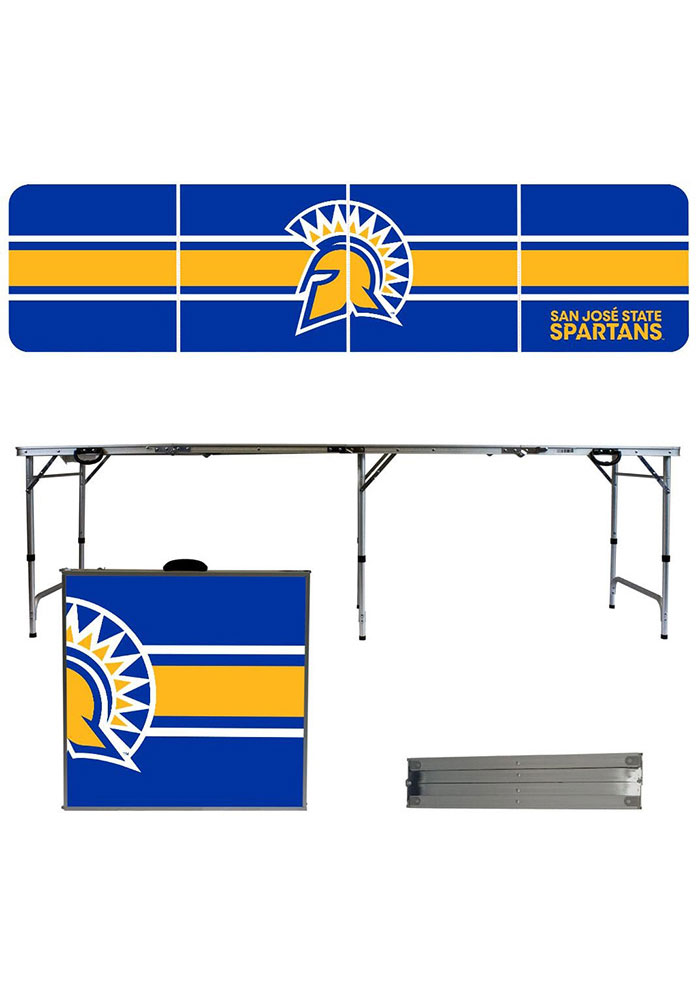 San Jose State Spartans 2x8 Tailgate Table - Image 1