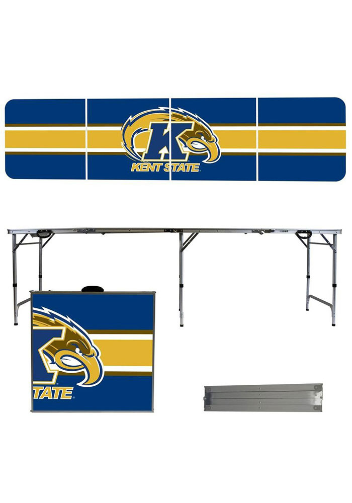 Kent State Golden Flashes 2x8 Tailgate Table - Image 1