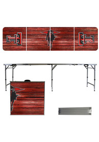 Texas Tech Red Raiders 2x8 Tailgate Table