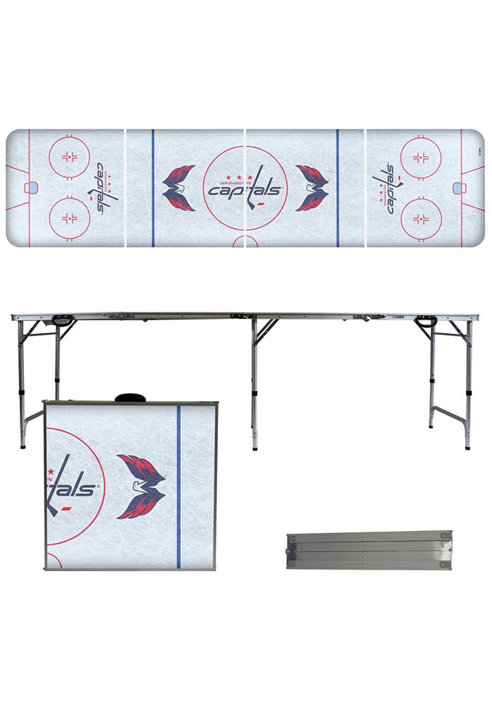 Washington Capitals 2x8 Tailgate Table - Image 1