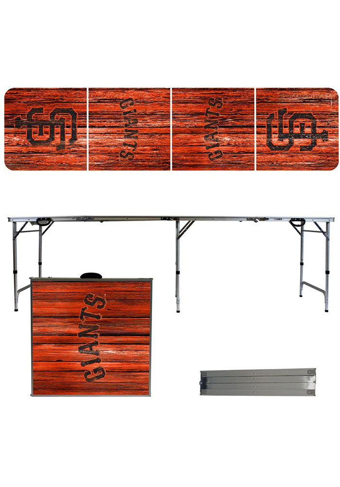 San Francisco Giants 2x8 Tailgate Table - Image 1