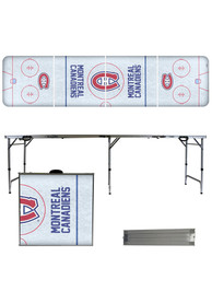Montreal Canadiens 2x8 Tailgate Table