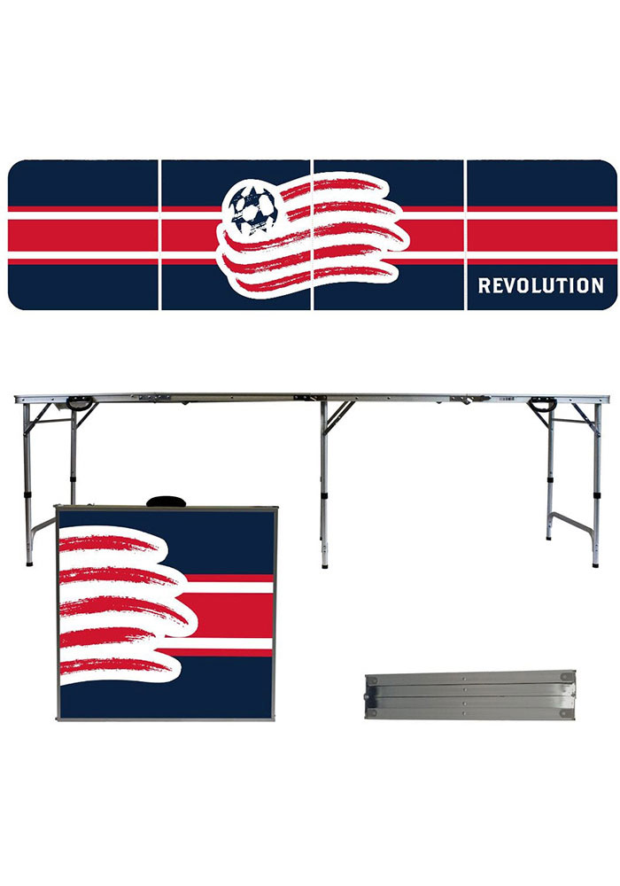 New England Revolution 2x8 Tailgate Table - Image 1