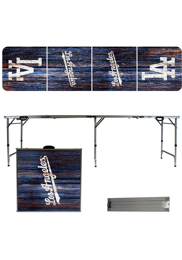 Los Angeles Dodgers 2x8 Tailgate Table - Image 1