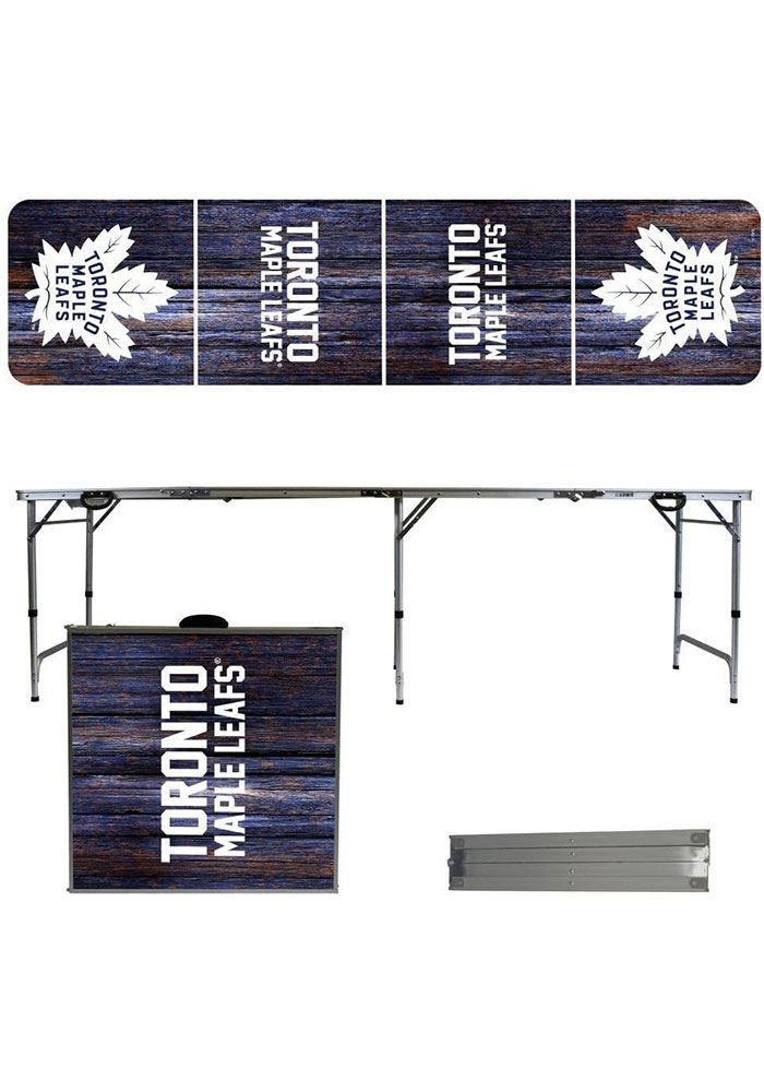 Toronto Maple Leafs 2x8 Tailgate Table - Image 1