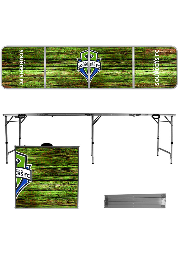 Seattle Sounders FC 2x8 Tailgate Table - Image 1