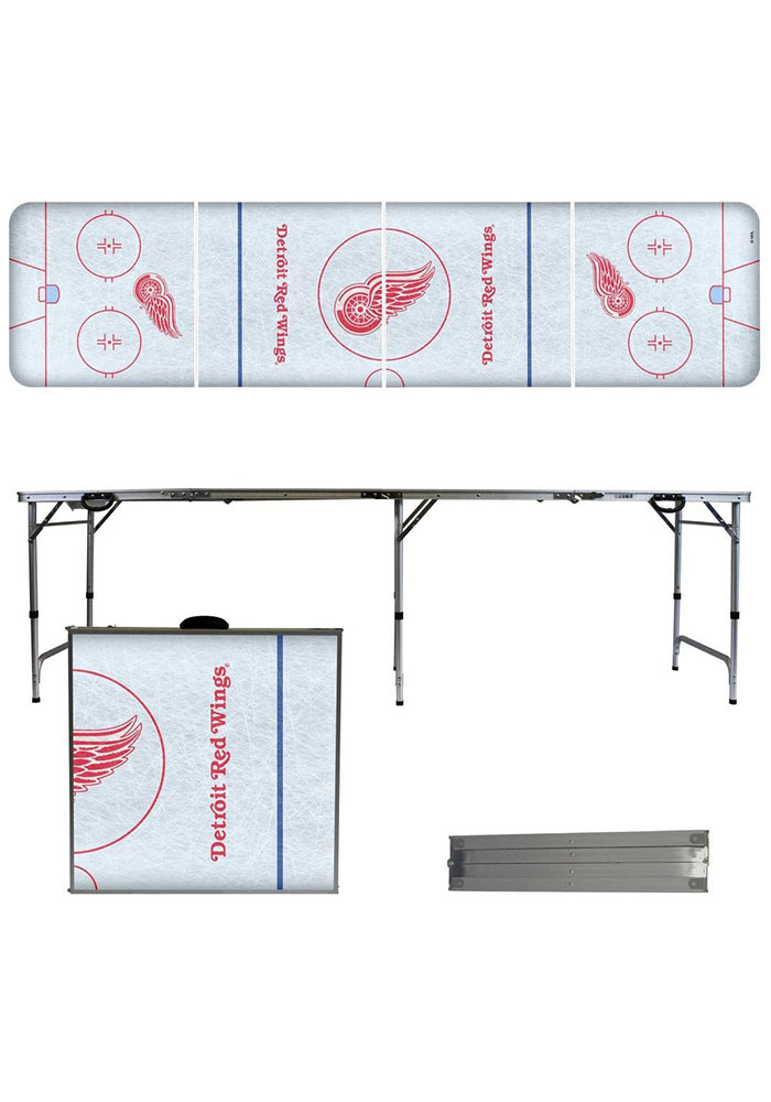 Detroit Red Wings 2x8 Tailgate Table - Image 1