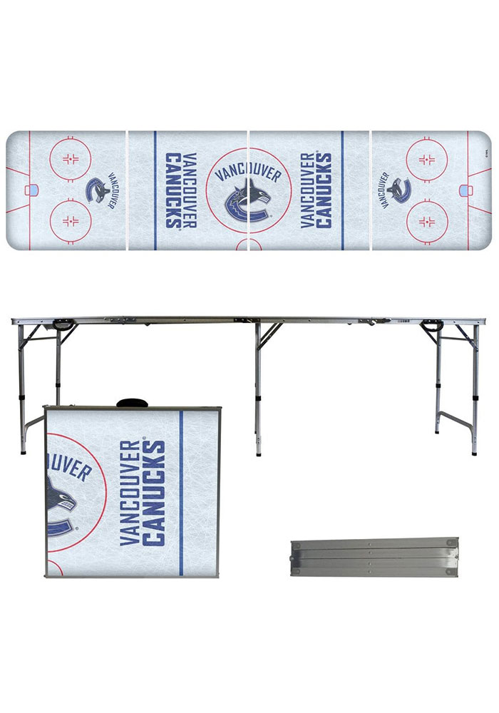 Vancouver Canucks 2x8 Tailgate Table - Image 1