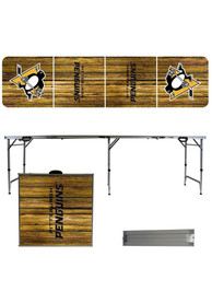 Pittsburgh Penguins 2x8 Tailgate Table