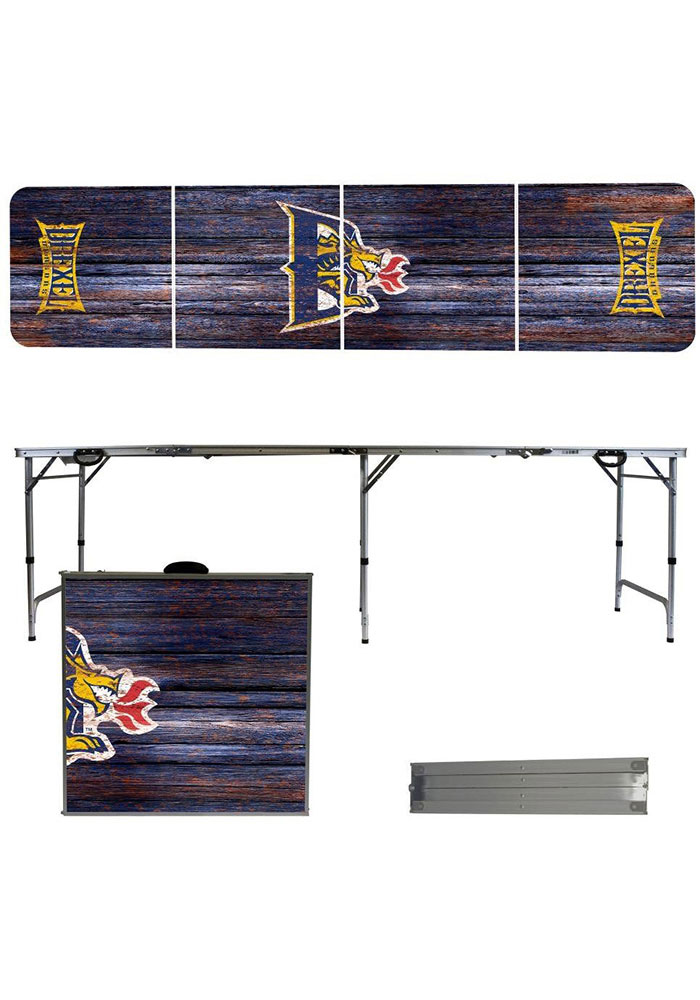 Drexel Dragons 2x8 Tailgate Table - Image 1