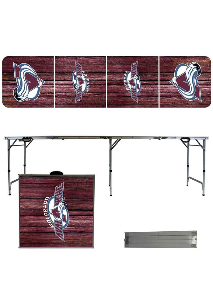 Colorado Avalanche 2x8 Tailgate Table - Image 1