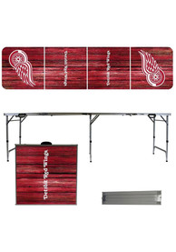 Detroit Red Wings 2x8 Tailgate Table