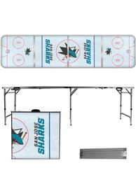 San Jose Sharks 2x8 Tailgate Table