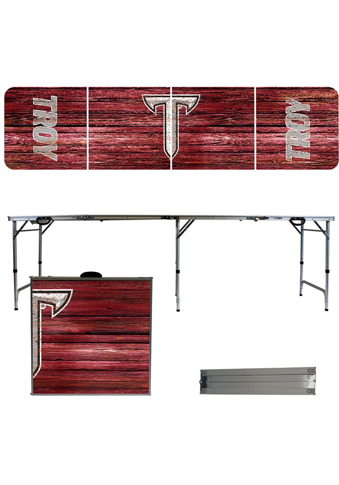 Troy Trojans 2x8 Tailgate Table - Image 1