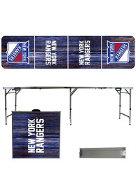 New York Rangers 2x8 Tailgate Table