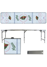 Minnesota Wild 2x8 Tailgate Table