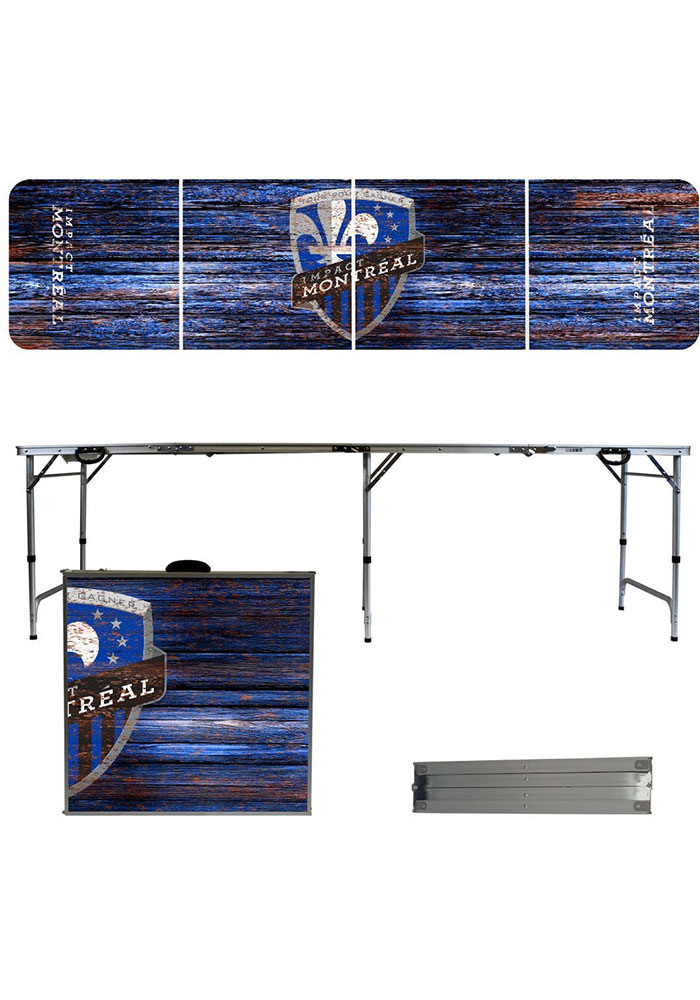 Montreal Impact 2x8 Tailgate Table - Image 1