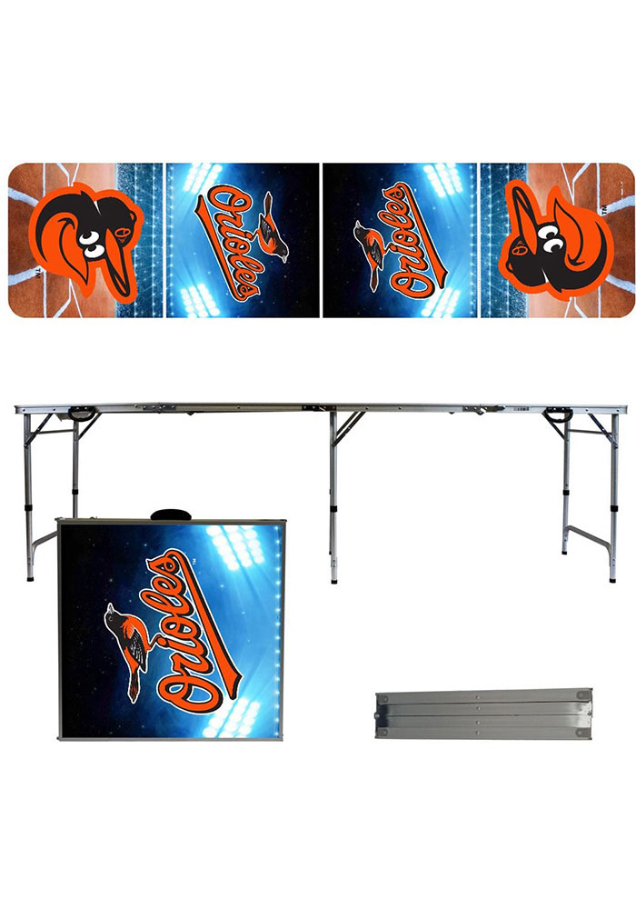 Baltimore Orioles 2x8 Tailgate Table - Image 1