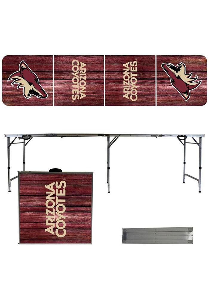 Arizona Coyotes 2x8 Tailgate Table - Image 1